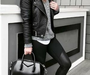 black, look, and casual image