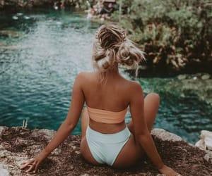 bikini, fashion, and goals image