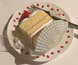 ケーキ, かわいい, and おいしい image