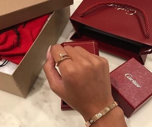 cartier, ring, and jewelry image