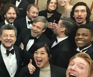 the last jedi, cast, and star wars image