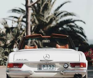 car, vintage, and mercedes image