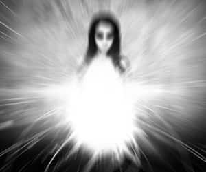 b & w, girl, and black & white image