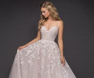 ball gown, Full Skirt, and lace image