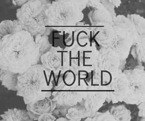 Fuck The World, heart, and lovd image