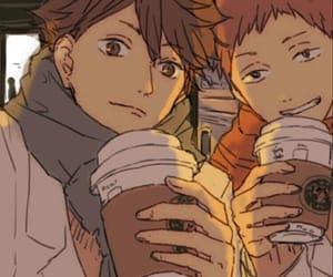 haikyuu, oikawa, and anime image