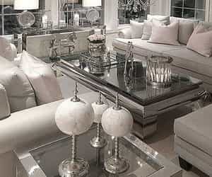 grey, home decor, and living room image