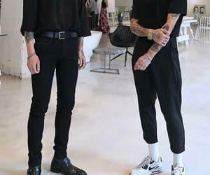 black, boys, and fashion image
