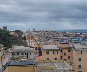 genova, harbor, and italy image