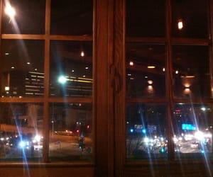 cars, trafic, and window image