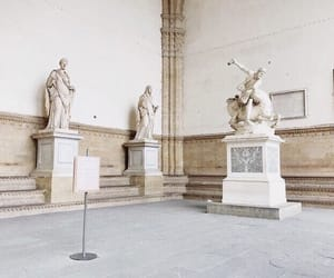 art, beige, and statue image
