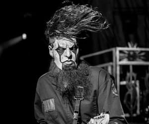 black and white, slipknot, and guitar image