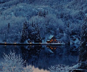 snow, winter, and landscapes image