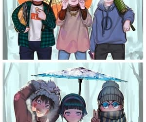 anime, child, and team 7 image