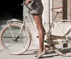 bike, legs, and bicycle image
