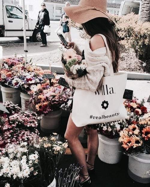 article, fashion, and flowers image