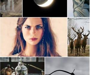 artemis, deer, and Olympus image
