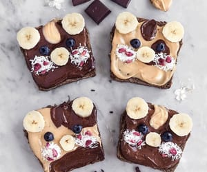 banana, blueberry, and bread image