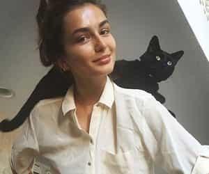 fashion, beautiful, and cat image