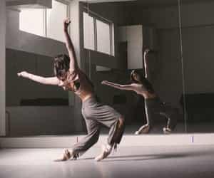 ballerina, dancing, and music image