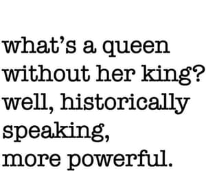king, Queen, and quotes image