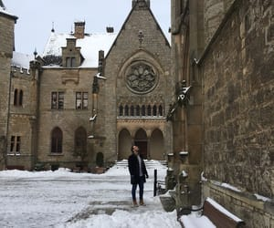 castle, fairytale, and cold image