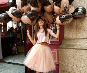 balloons, dress, and fashion image