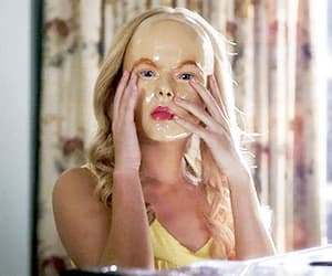 mask, pretty little liars, and janel parrish image