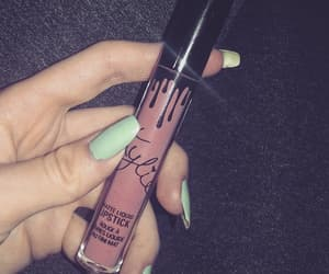 lipstick, mint, and makeup image