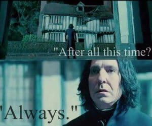 always and snape image