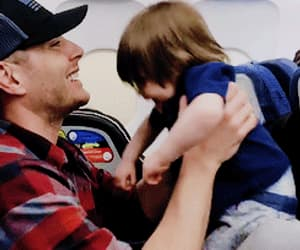 actor, awesome, and baby image