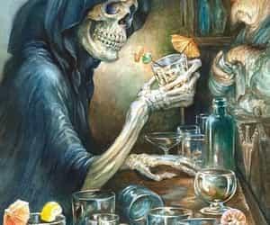 alcohol, muerte, and melancolía image