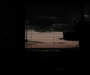 dark, aesthetic, and sunset image
