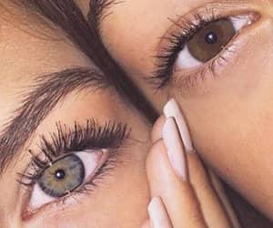 eyes, girl, and beautiful image