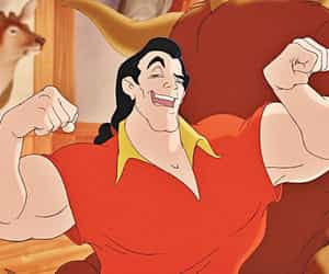 beauty and the beast and gaston image