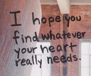 quotes, heart, and hope image
