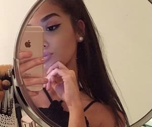 aesthetic, mirror selfies, and girls image