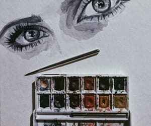 alternative, watercolor, and art image