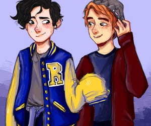riverdale, archie andrews, and jughead jones image