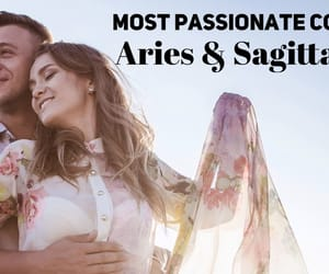 aries, couple, and passionate image