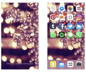 christmas, iphone, and theme image