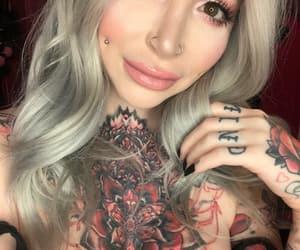 alternative, blonde, and model image