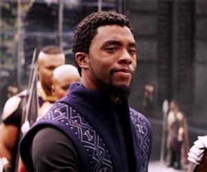 gif, Marvel, and chadwick boseman image