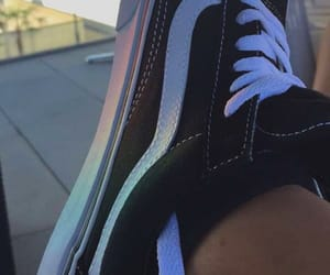 colors, vansgirls, and rainbow image