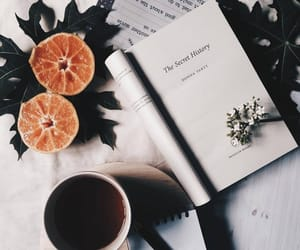 book, style, and coffee image