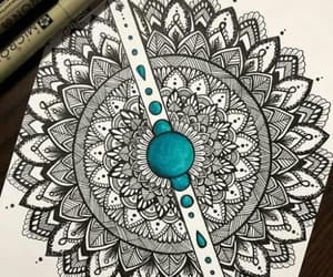 mandala, arte, and art image