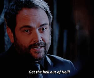 crowley, hell, and spn image