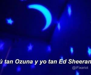 estrellas, luna, and ed sheran image