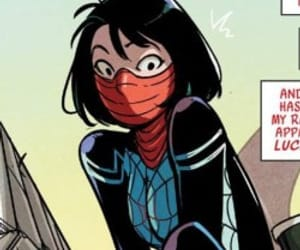 comic, comics, and silk image