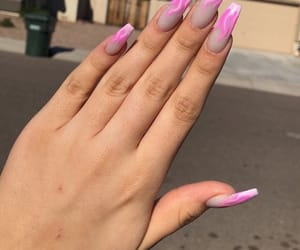 acrylic, design, and nails image